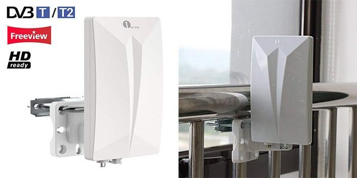 1byone Indoor/Outdoor TV Antenna