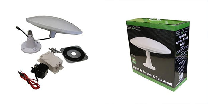 SAC Electronics Digital TV Caravan And Truck Aerial
