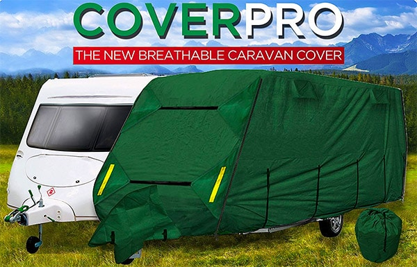 Crusader CoverPRO Premium 4 Ply Caravan Cover 17ft to 19ft