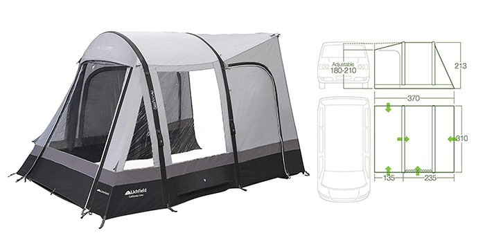 Lichfield California Drive-Away Air Awning