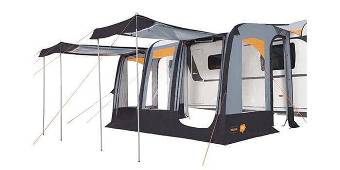 Trigano Luna Air Inflatable Caravan Porch Awning