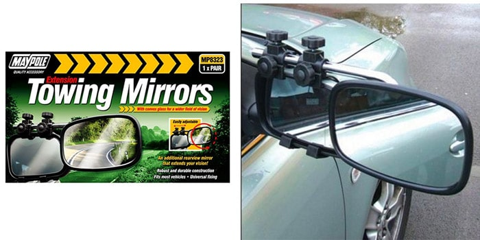 Maypole Towing Mirror Pair (Convex)