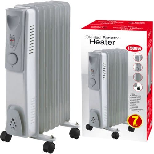 Portable Oil-Filled Radiator Heater