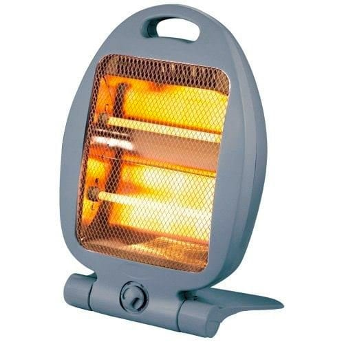 Quest Compact Portable Mains Electric Quartz Heater