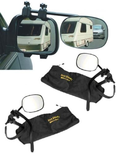 Streetwize Rock Steady Towing Mirrors