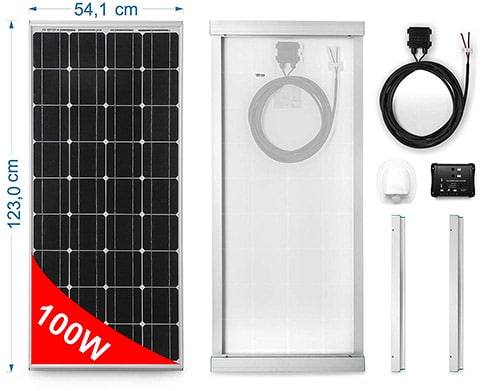 Direct Importer Mono-crystalline Solar Panel 150 Watts