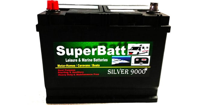 SuperBatt 12 Volts 85AH CB22MF Leisure Battery