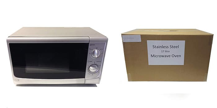 Manual 700 Watts Small Microwave for Caravan