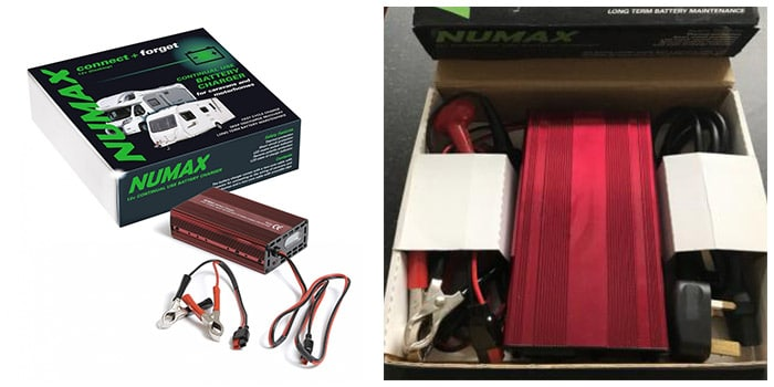 Numax 12 volt 10 Amp Leisure Battery Charger