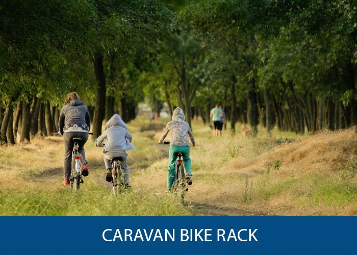 caravan bike rack