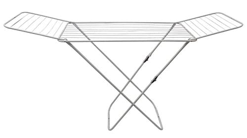 JVL Easy Store Two Folding Winged Clothes Airer