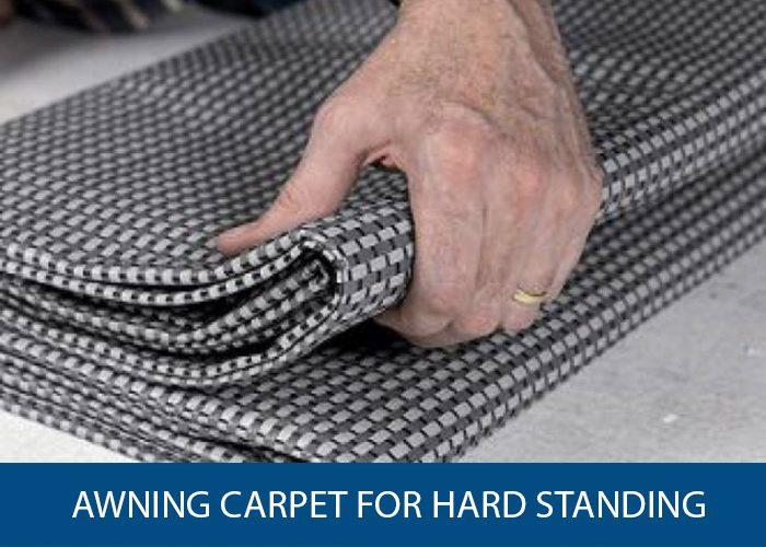 awning carpet for hard standing