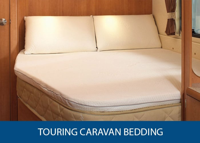 touring caravan bedding