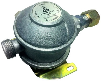 Cavagna Bulkhead Gas Regulator