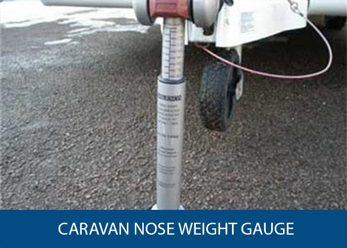 caravan nose weight gauge