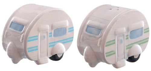 Ceramic Caravan Salt & Pepper Set