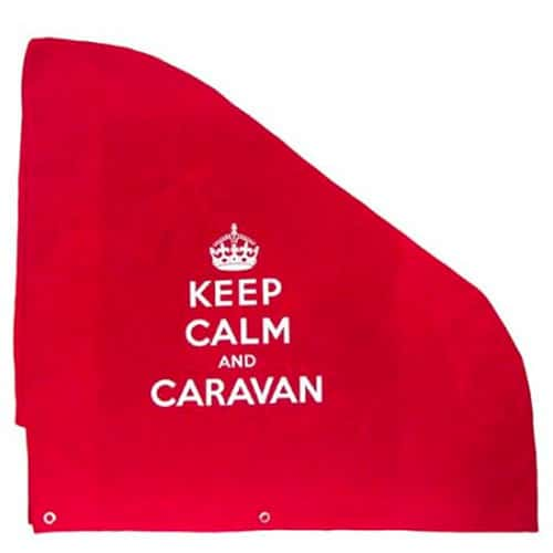 Keep Calm & Caravan Hitch Cover