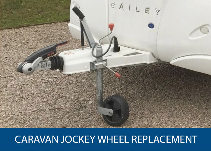 caravan wheel jockey replacement