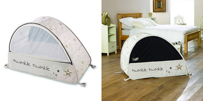 Sun and Sleep Pop-Up Bubble Travel Cot