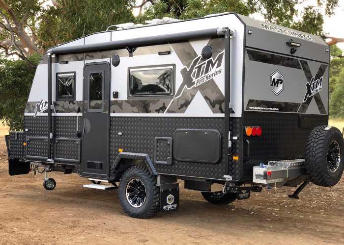 Traditional Single Axle Caravan