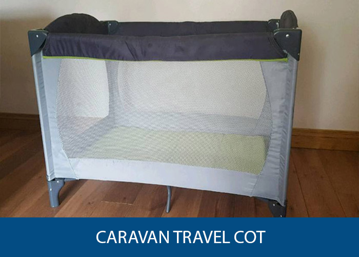 caravan travel cot small narrow and mini caravan helper. Black Bedroom Furniture Sets. Home Design Ideas