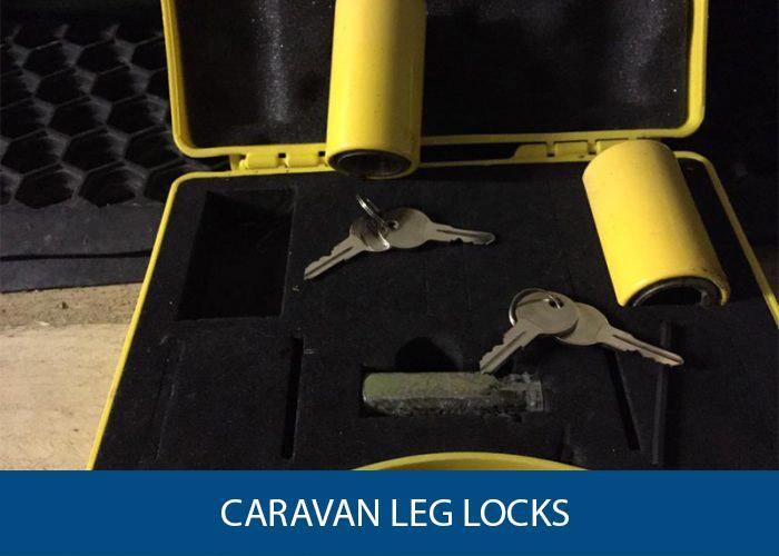 caravan leg locks