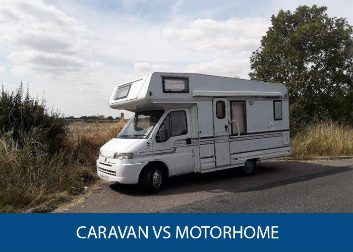 caravan vs motorhome