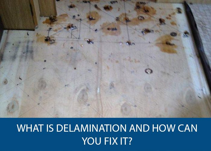what is delamination and how can you fix it