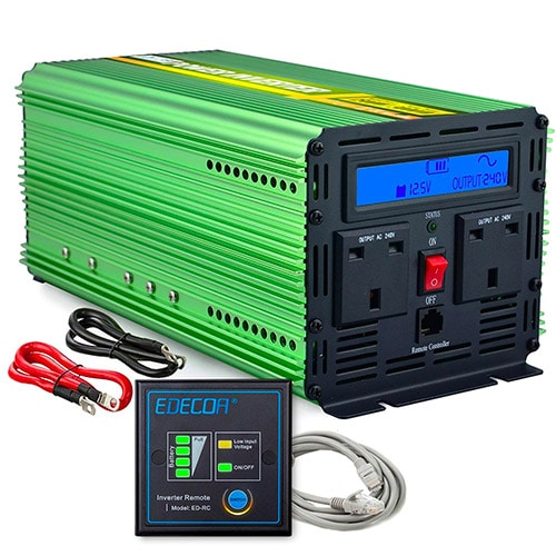 Best Pure Sine Wave Inverter UK [12v to 240v] - Caravan Helper