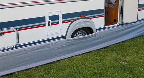 Eurotail Universal Caravan Awning Skirt