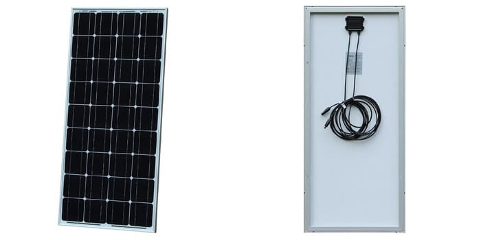 Photonic Universe 100W Solar Panel for Caravans