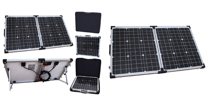 Photonic 80W Solar Panel for Caravans