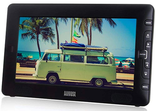 """August 9"""" Portable TV LCD / Freeview / Multi-Media Player"""