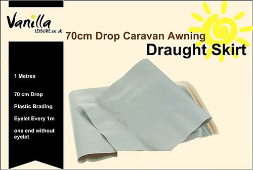 Vanilla Leisure Caravan Awning Draft Skirt