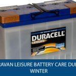 Caravan Leisure Battery Care During Winter