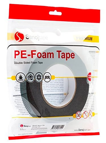 Sanoj Tape Ultra Strong Black Double Sided Tape