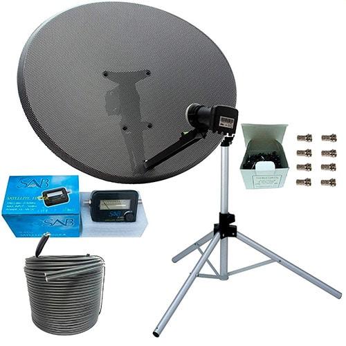 Caravan Satellite Dish [Kits, Portable, Reviews] - Caravan Helper