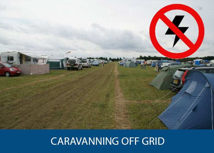 Caravanning Off Grid