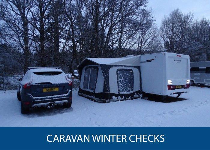 Caravan Winter Checks