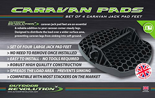 Outdoor Revolution Caravan Jack Pad Feet