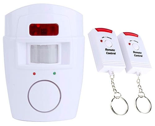Bositools Wireless PIR Motion Sensor Caravan Alarm