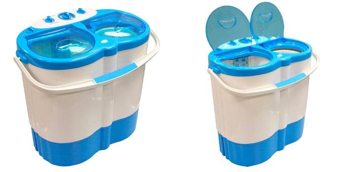 Leisurewize Twin Tub Portable Washing Machine Spin Dryer