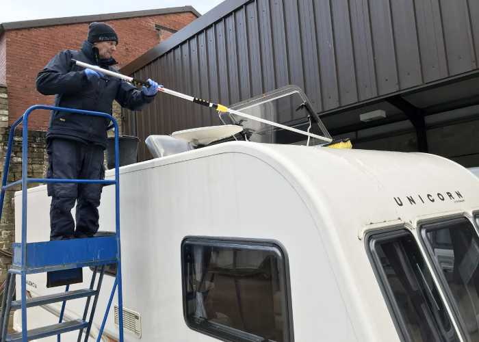 Why Should You Clean Your Caravan Roof
