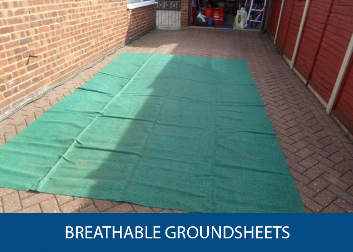 breathable groundsheet