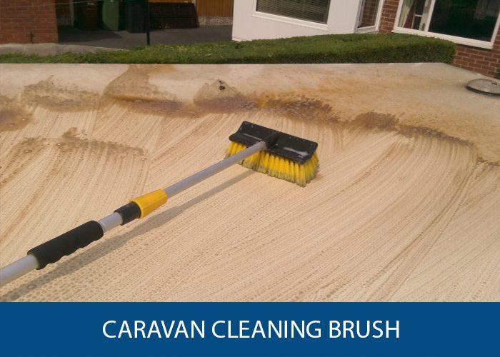 caravan cleaning brush
