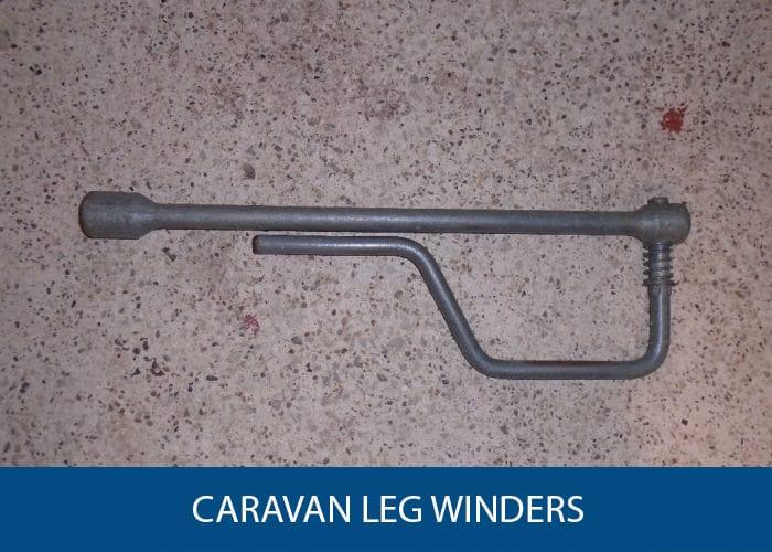 caravan leg winders
