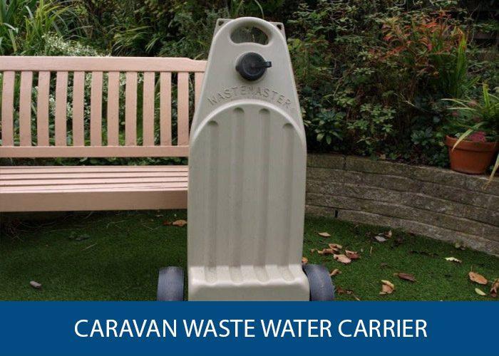 caravan waste water carrier
