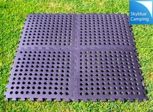 Kampa Easylock Flooring Tiles/Multi-Purpose Carpet Tiles