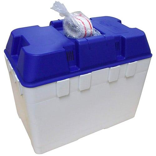 Leisure Battery Box & Strap Caravan