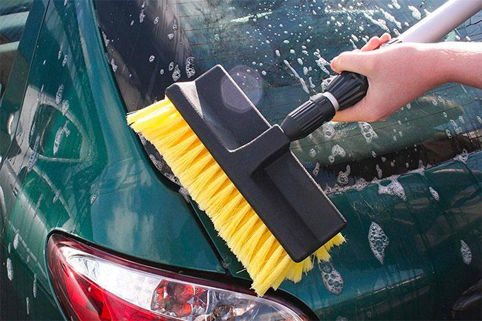 Martin Cox Deluxe Caravan Car Cleaning Telescopic Brush Broom & Water